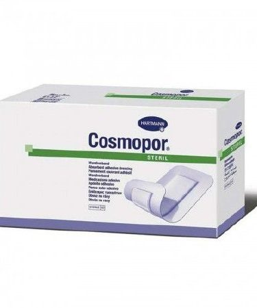 Adhesive Dressing Cosmopor 4 X 10 Inch NonWoven Rectangle White Sterile