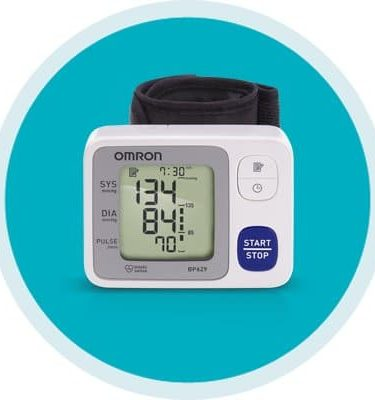 Digital Blood Pressure Wrist Unit Omron 3 Series™ Automatic Inflation Wrist Adult Large Cuff