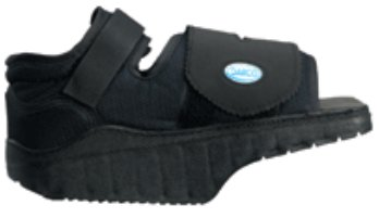 Post-Op Shoe Darco® OrthoWedge™ Medium Unisex Black